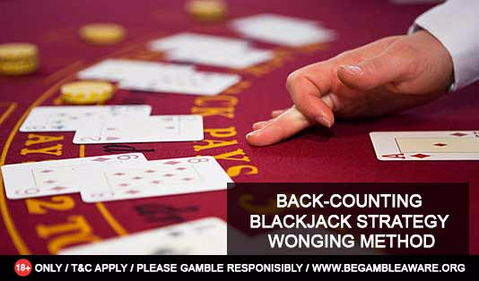 Back-Counting Blackjack Strategy – Wonging Method