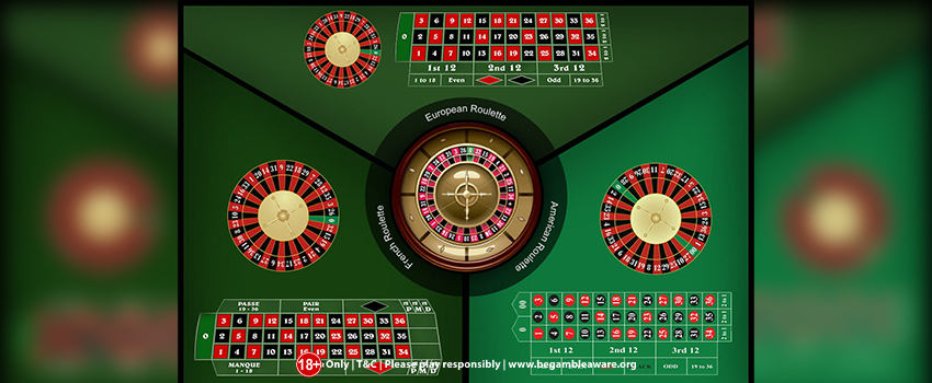 Roulette wheels: What's the difference?