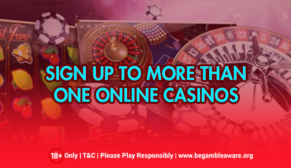 Signing Up With Multiple Online Casinos, Yes Or No?