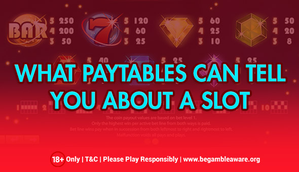 Paytables and Their Influence on the Way a Slot Game Is Played