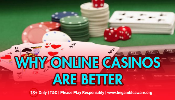 What Makes Online Casinos Enchanting?