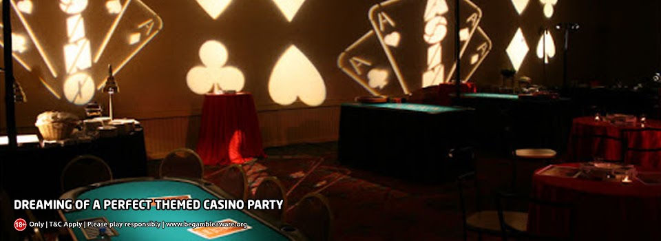 Dreaming of a perfect themed casino party? We have covered it all for you!