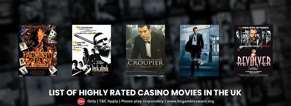 A List of Highly-rated Casino Movies in the UK